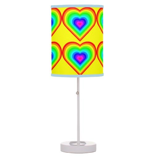 Love is love in neon table lamp