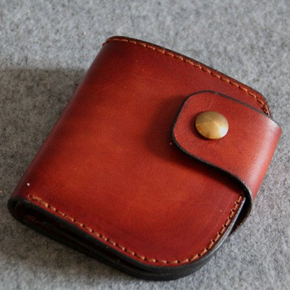 Genuine Leather wallet simple style purseMen's by FocusmanLeather, $50.00