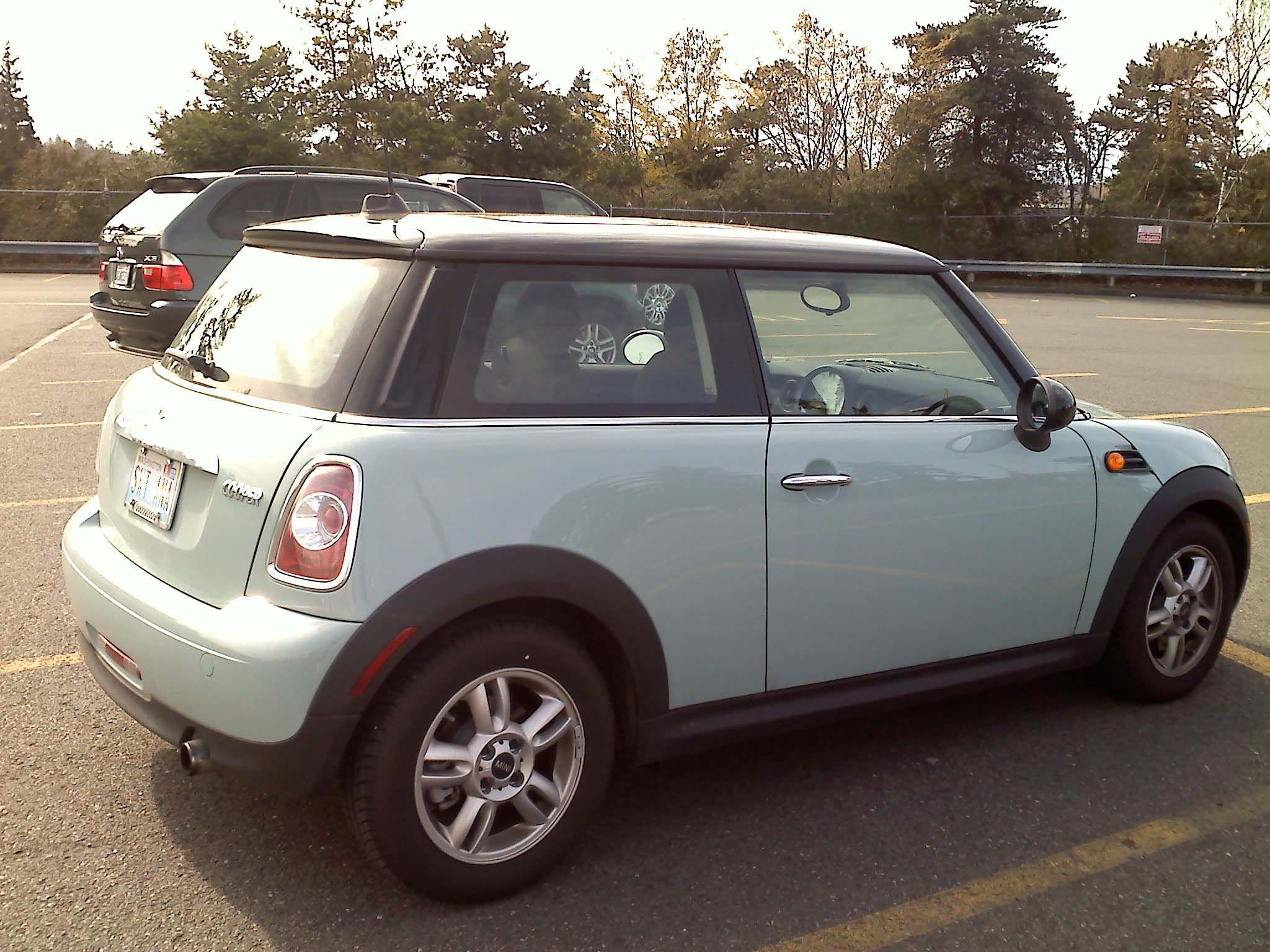 Deam Car : Tiffany Blue Mini Cooper <3