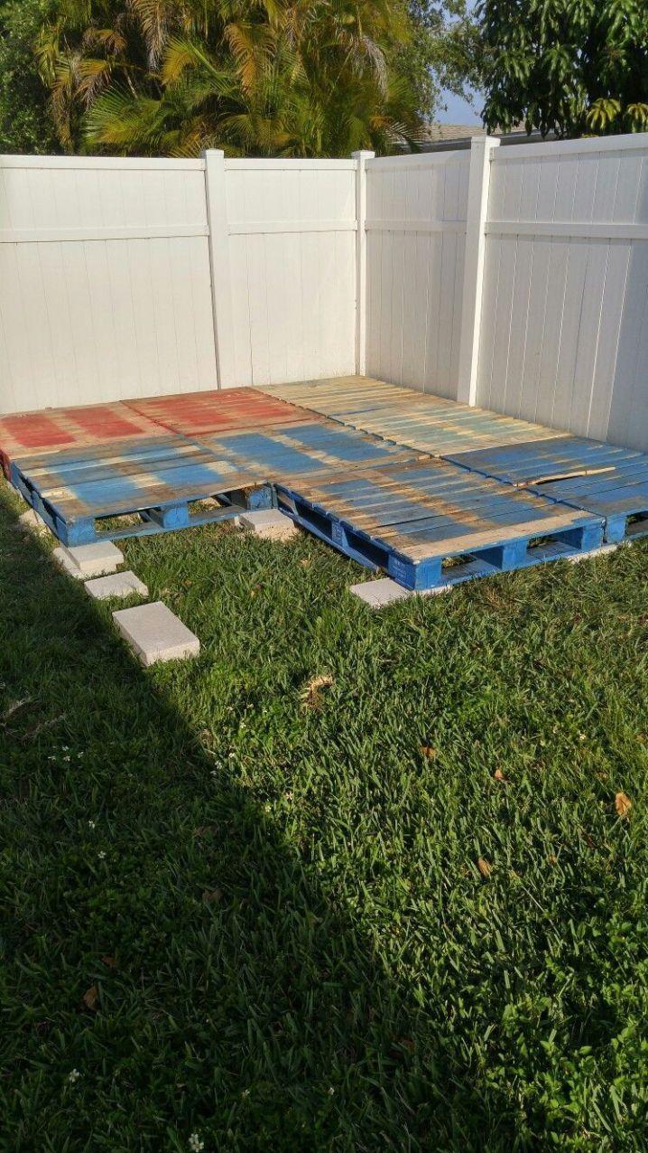 DIY Pallet Deck Home Exterior Verbesserungsvorschläge + 88 51