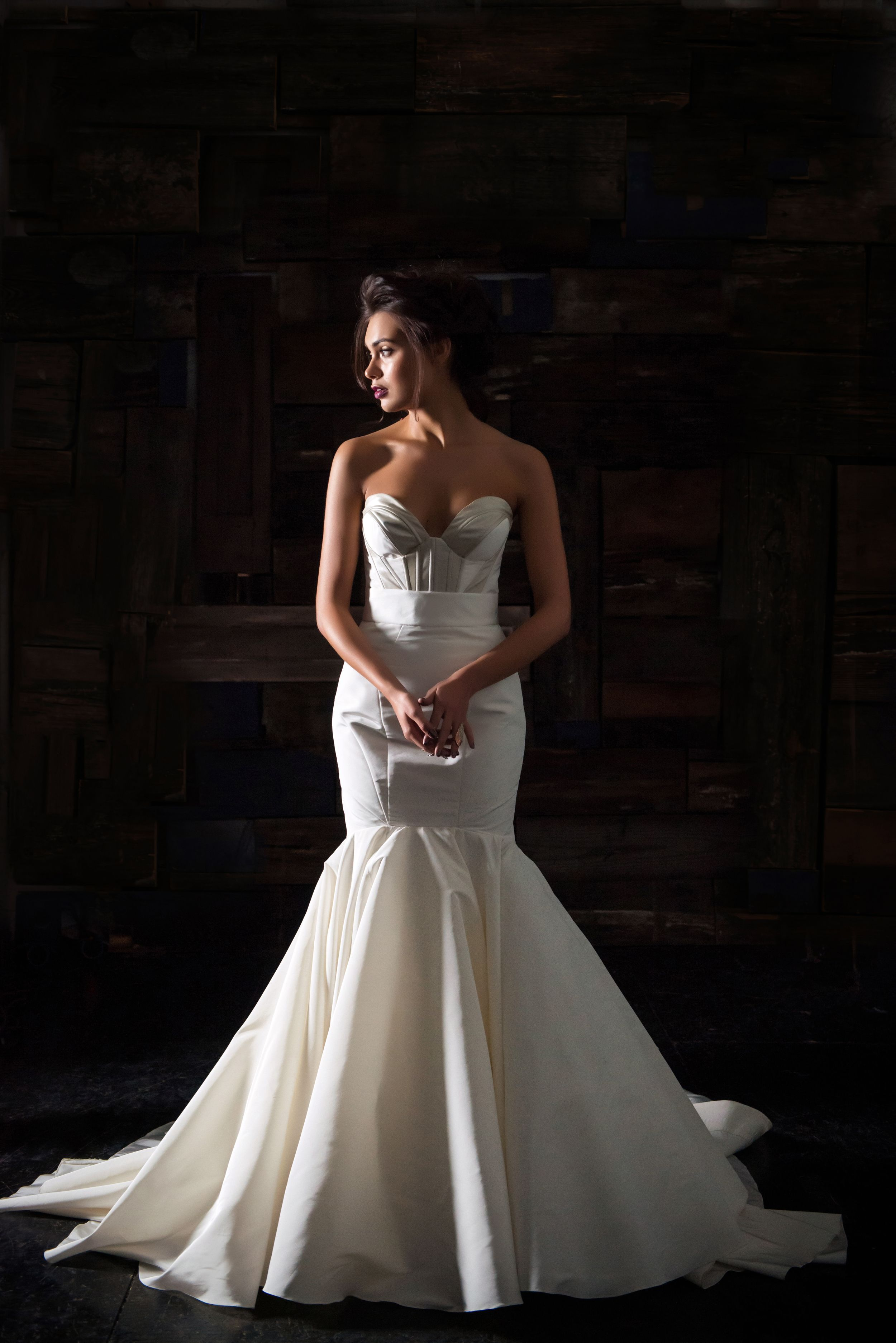 Leather wedding dress  Pin by Emily Fritz on Mrs  Pinterest  Wedding dress Weddings and