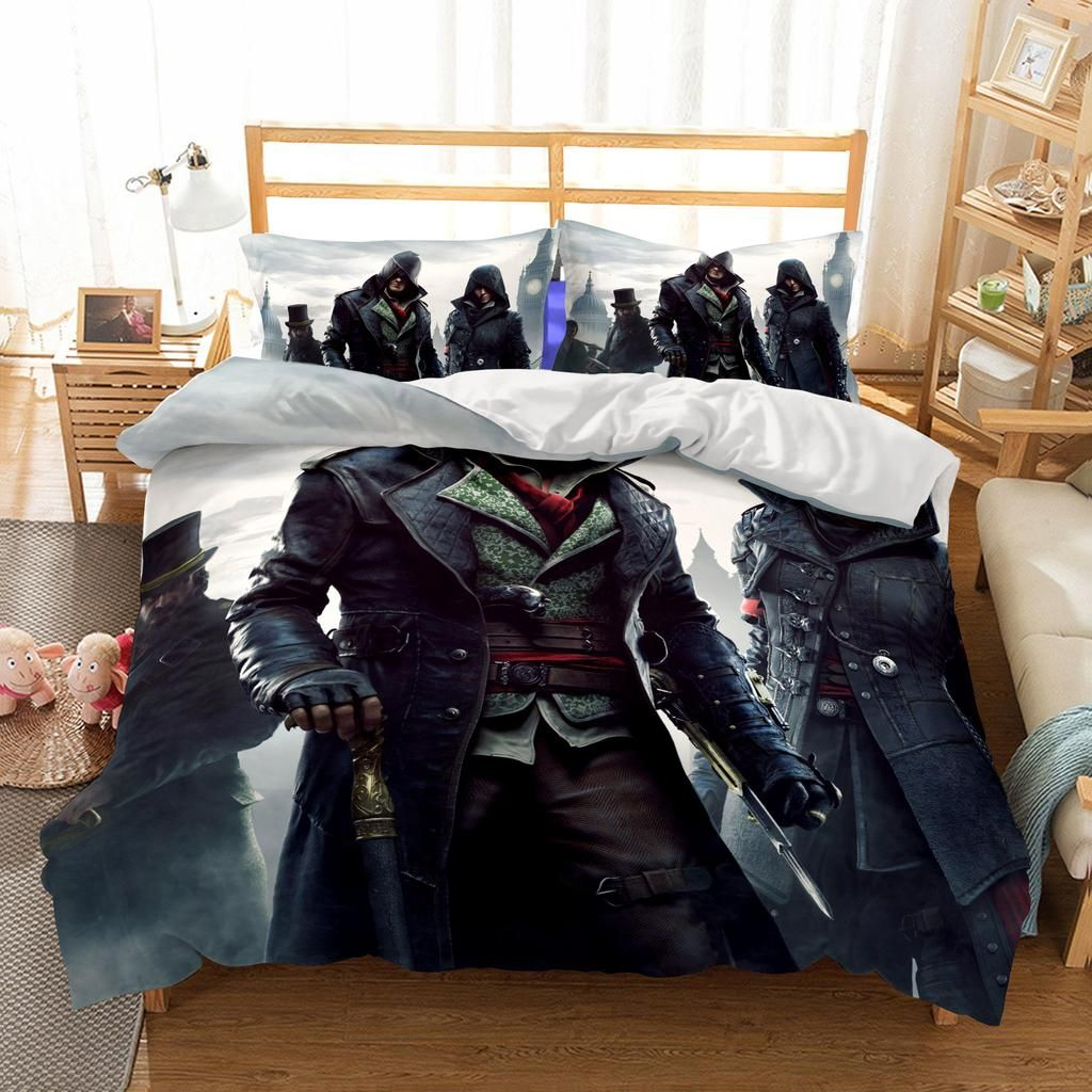 3d Game Assassin S Creed Personage Printed Bedding Sets Duvet