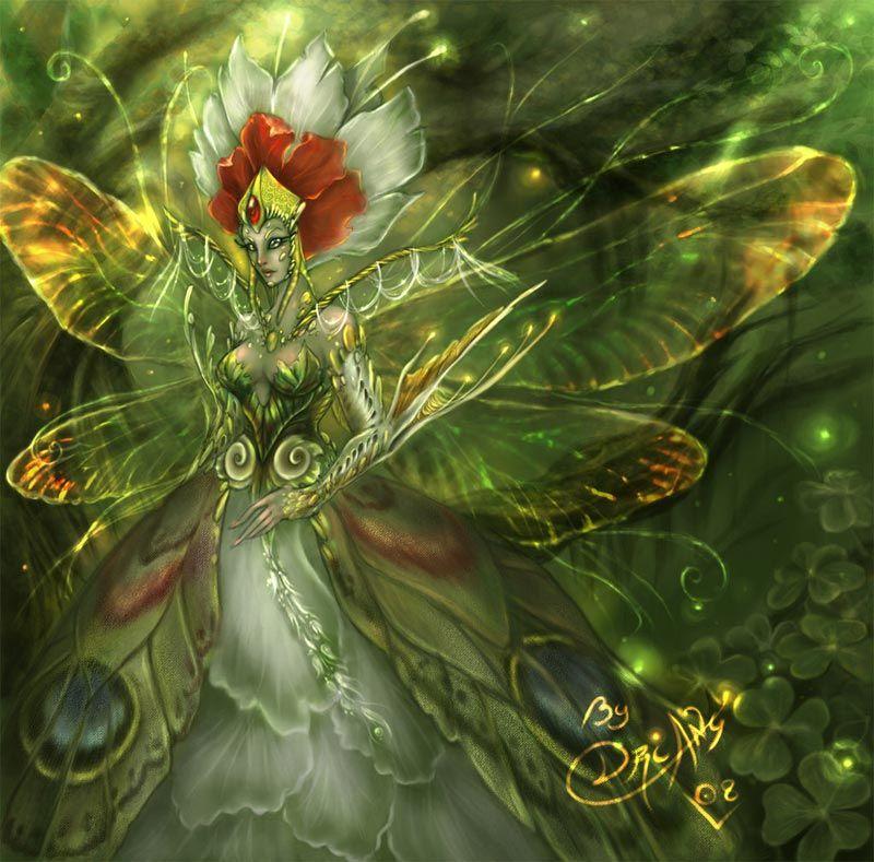 40 Beautiful Fairy Illustrations and Manipulations   Fairy ...