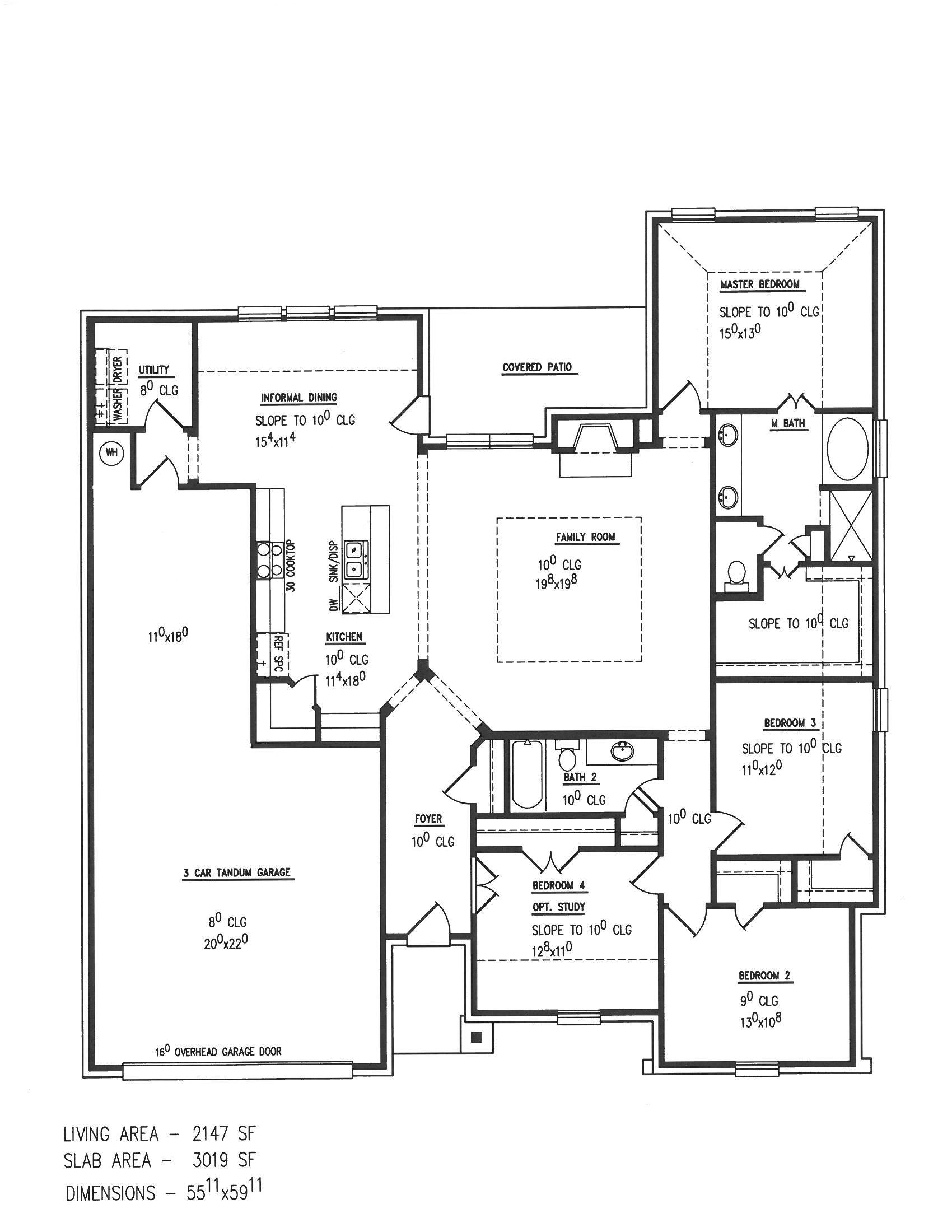Reatta Ridge Floor Plan Mcbeehomes Newhomeconstruction