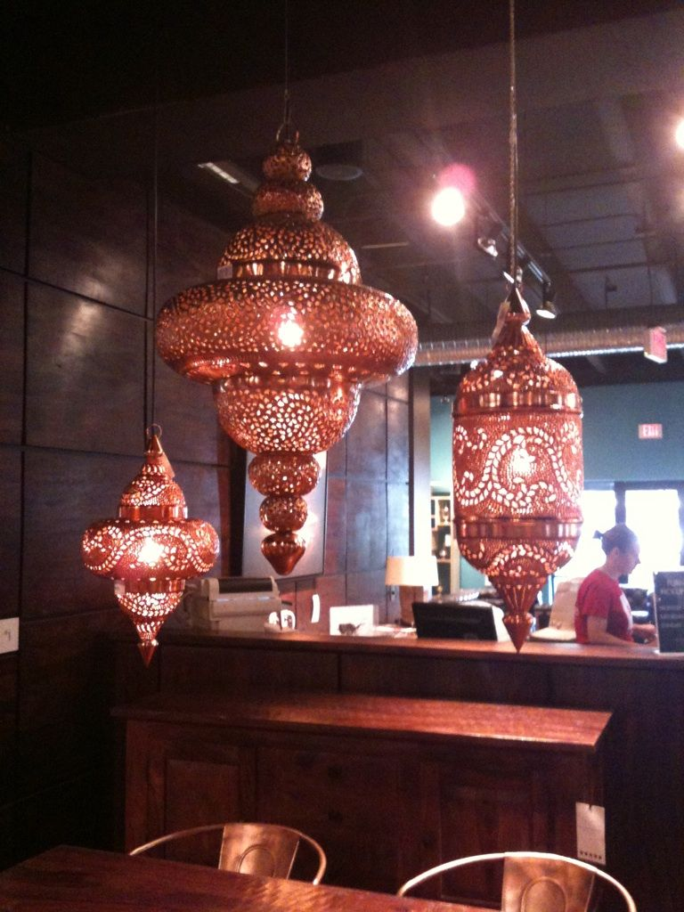 Moroccan Style Light Fixtures From Four Hands Lighting