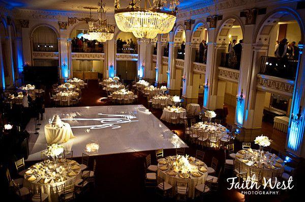 Ballroom At The Ben Finley Catering Wedding Ceremony Reception Venue P Wedding Venues Pennsylvania Philadelphia Wedding Venues Ballroom Wedding Reception