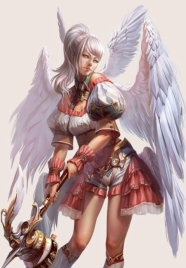 Tabris by Yu Cheng Hong Fantasy 2D CGSociety Game