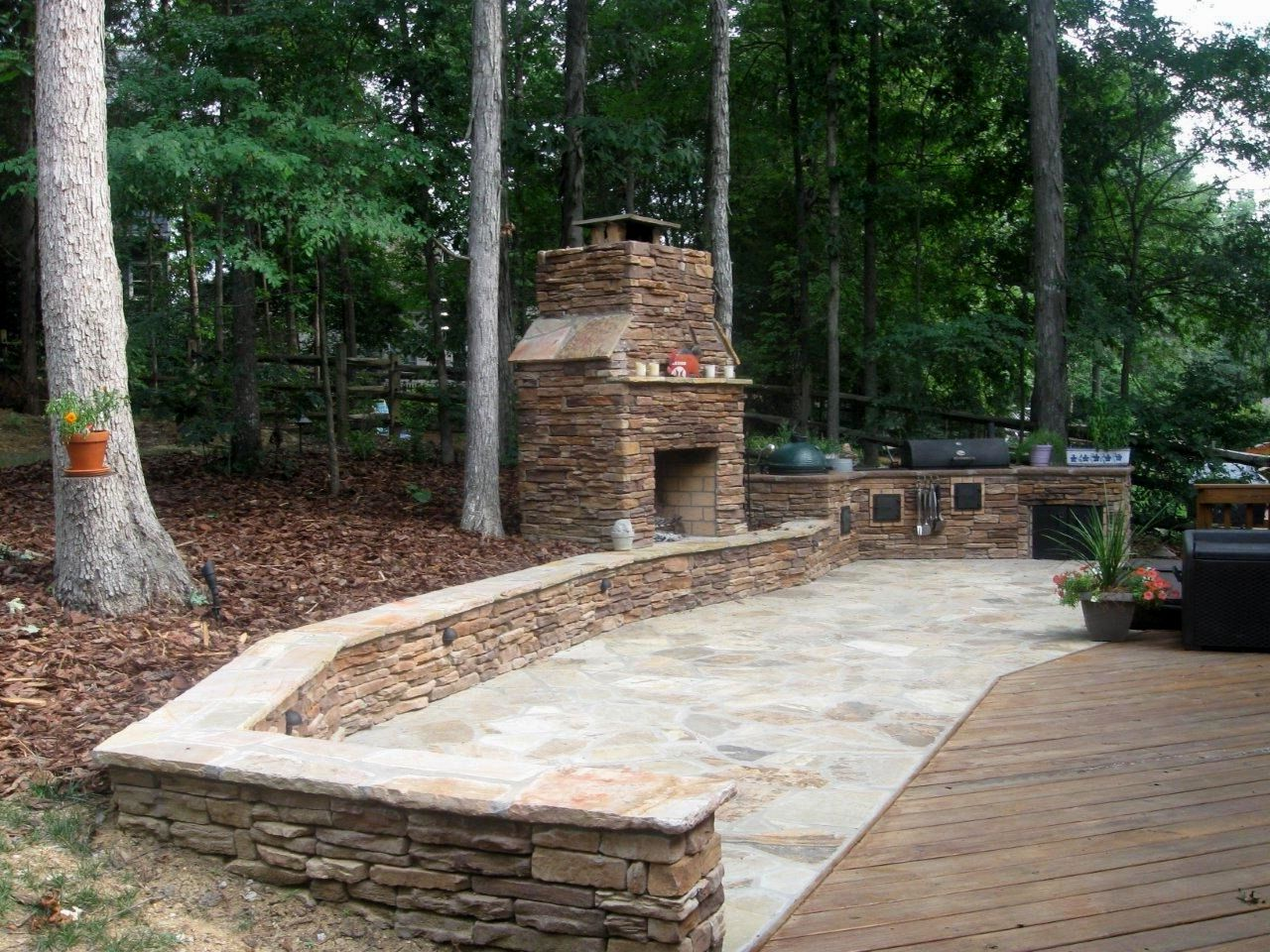 the best stone patio ideas | stone patios, patios and stone - Different Patio Ideas