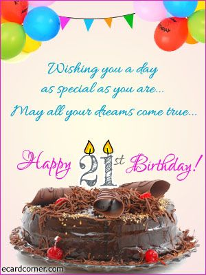 21st birthday greetings birthdays pinterest birthday greetings 21st birthday greetings bookmarktalkfo Image collections