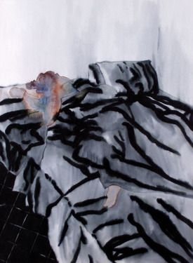 "Saatchi Online Artist Danilo Santinelli; Painting, ""Federica while sleeping"" #art"
