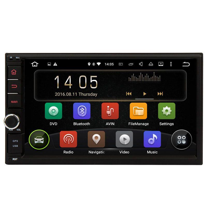 2 Din Android 5.1.1 Universal (178*100mm) Car Radio Quad