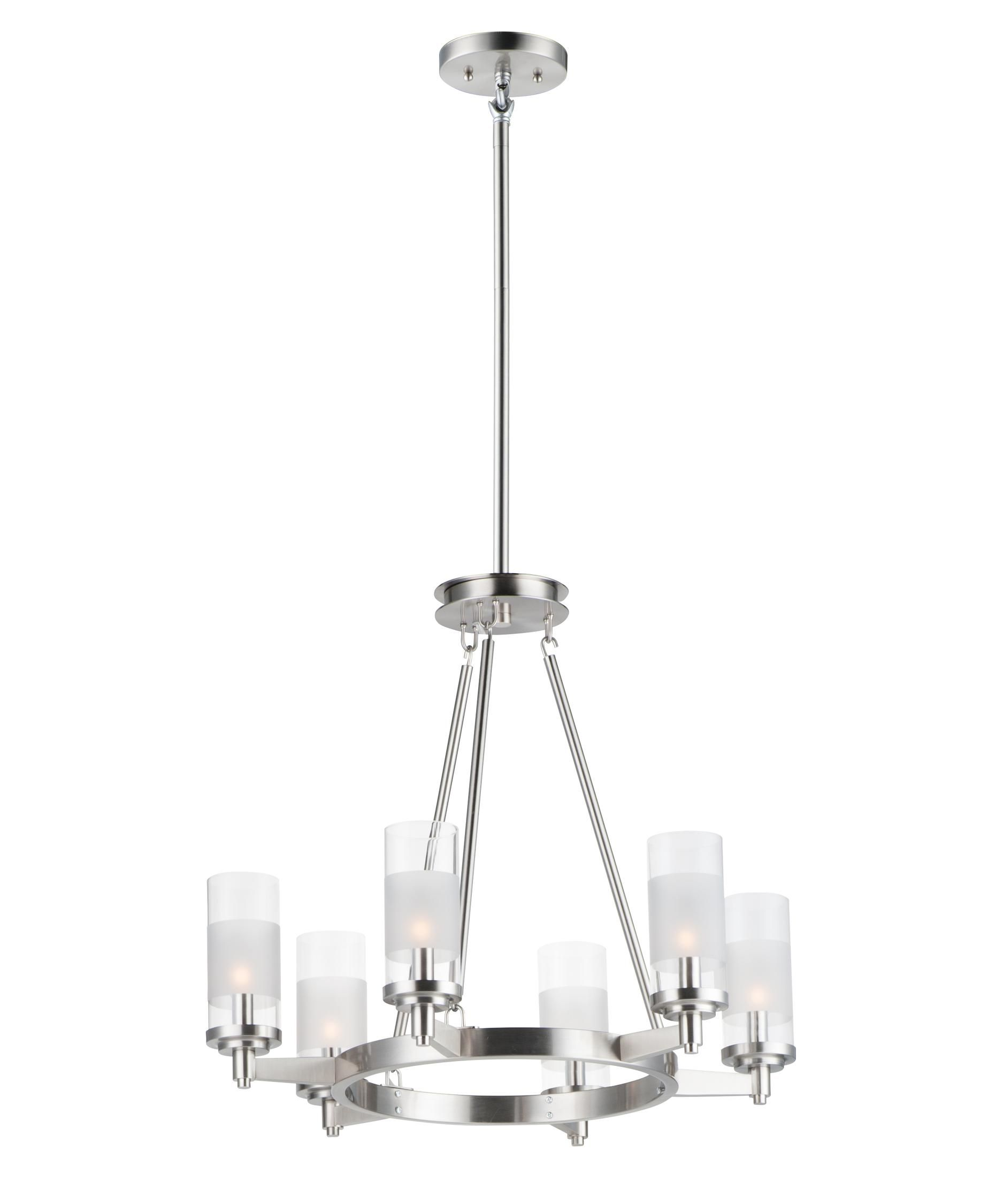 Crescendo 24 Inch 6 Light Chandelier By Maxim Lighting Lighting