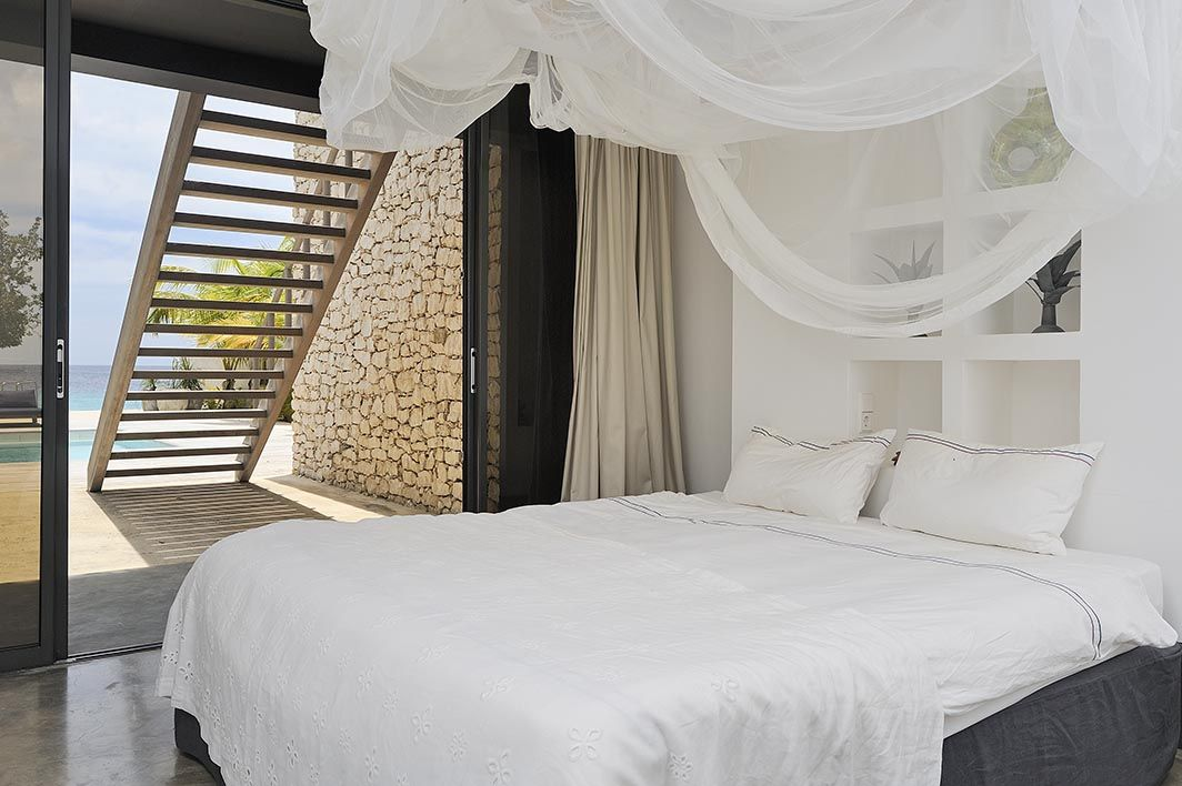 Piet Boon. Bonaire. Caribbean. Beach House. Bedroom. Nature ...