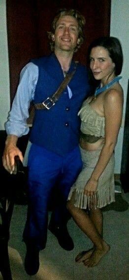 diy pocahontas and john smith halloween costume more