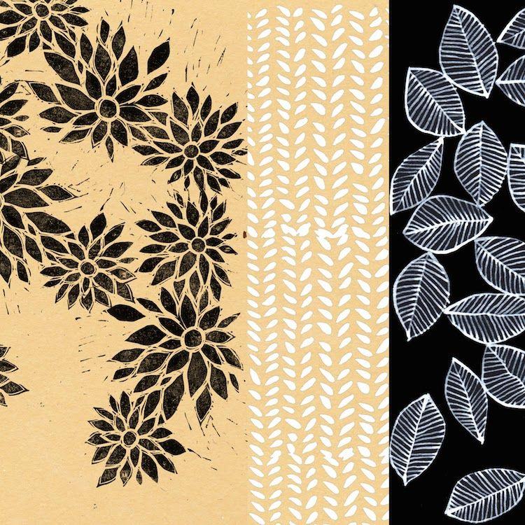 Stéphanie Ledoux - Carnets de voyage: Patterns