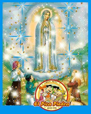 Feliz Dia De Nuestra Hermosa Y Unica Virgen De Fatima