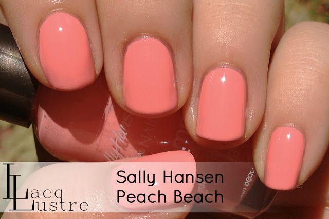 Sally Hansen Peach Beach Sally Hansen Nails Sally Hansen Nail