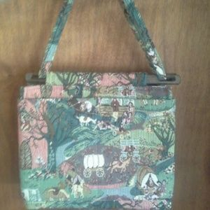 Another Vintage Bag Toby Weston Handbags Purse Tapestry