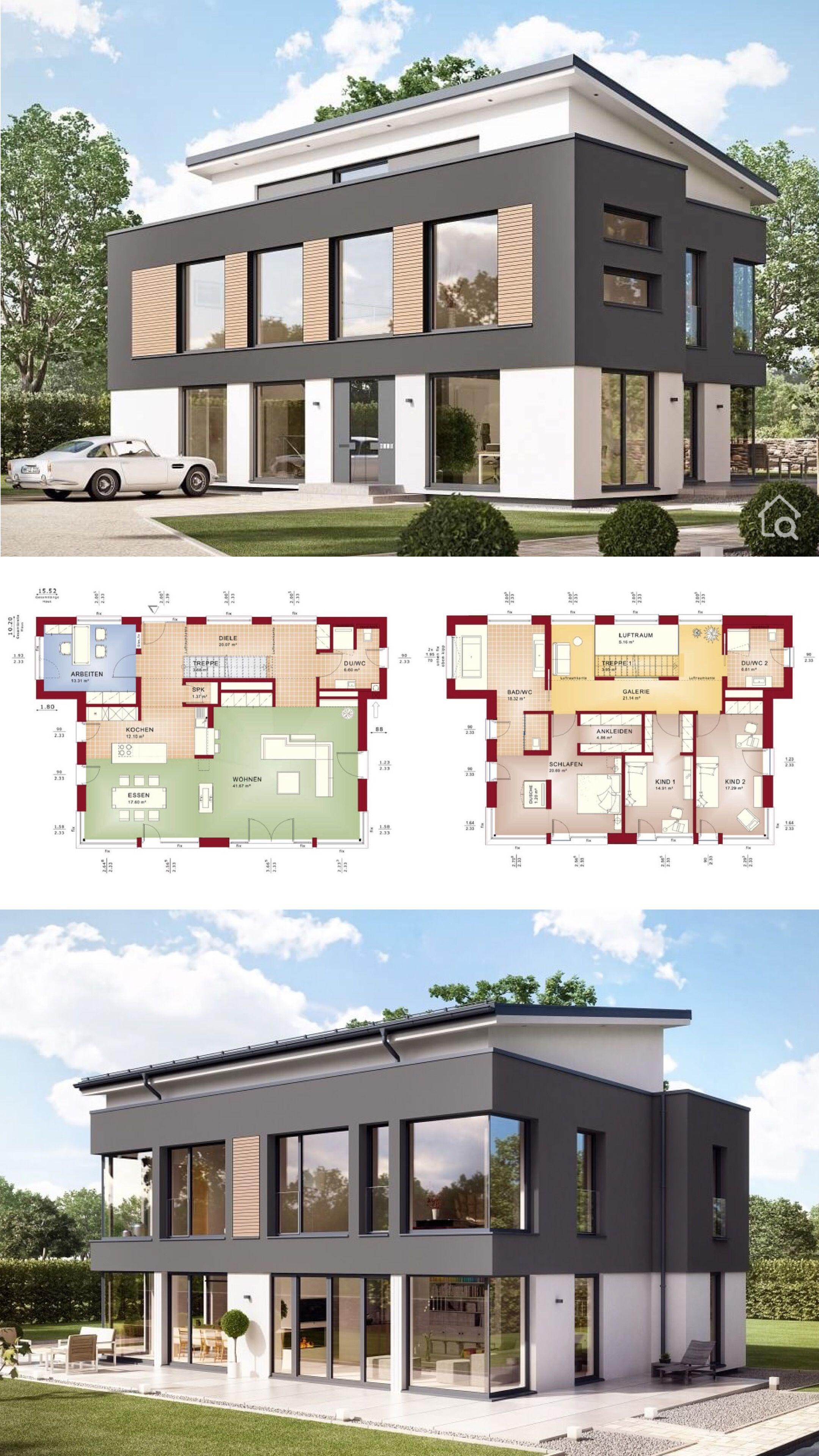 28+ Haus mit galerie modern 2021 ideen