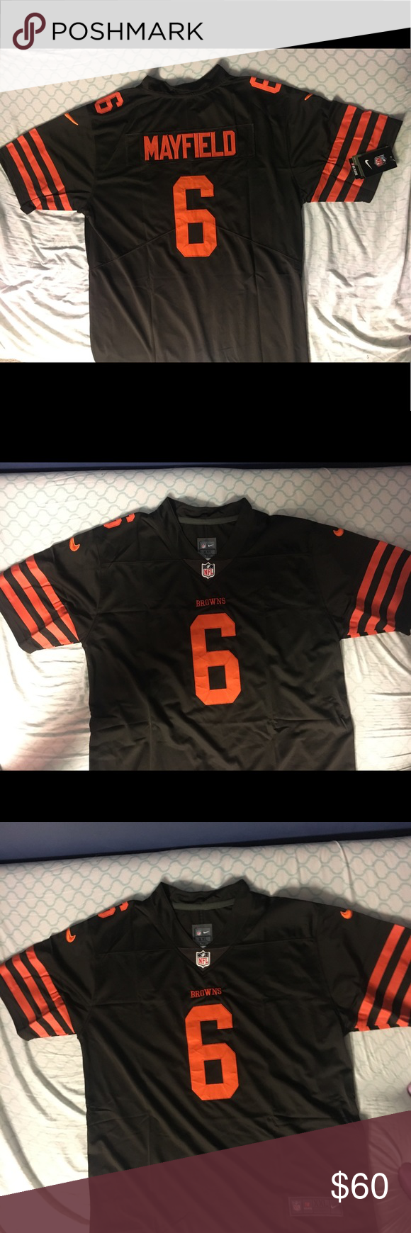 Baker Mayfield Browns jersey Clothes design, Nike shirts