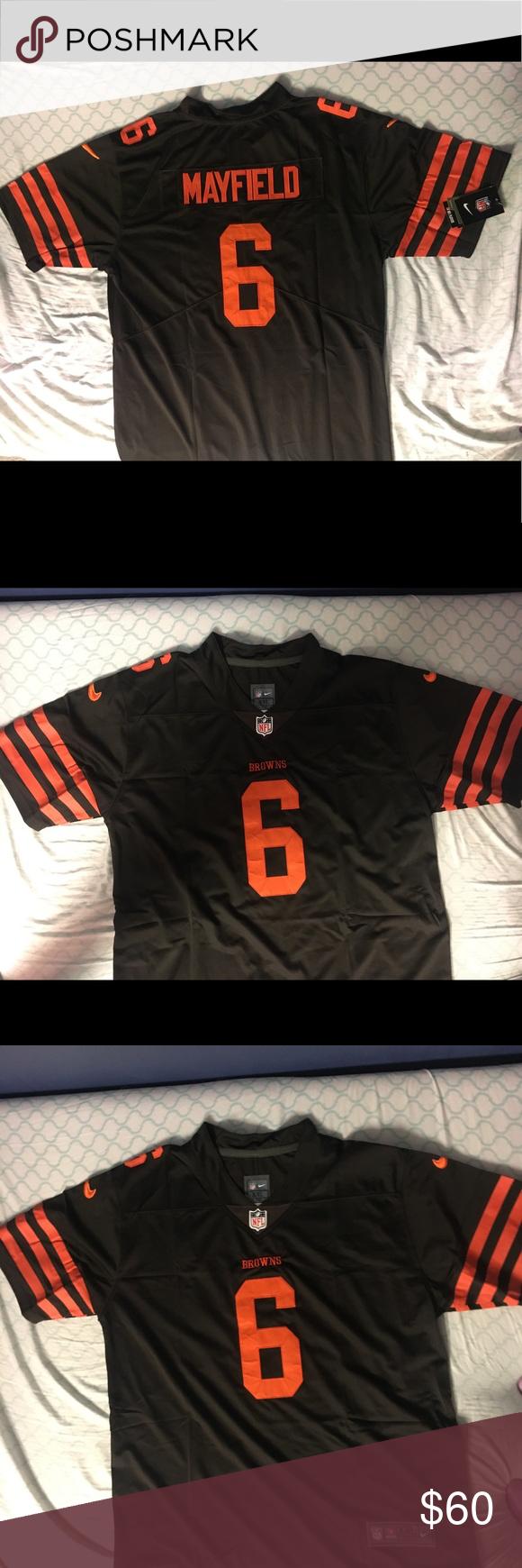 hot sale online b287d 926fb Baker Mayfield Browns jersey Baker Mayfield jersey size XXL ...