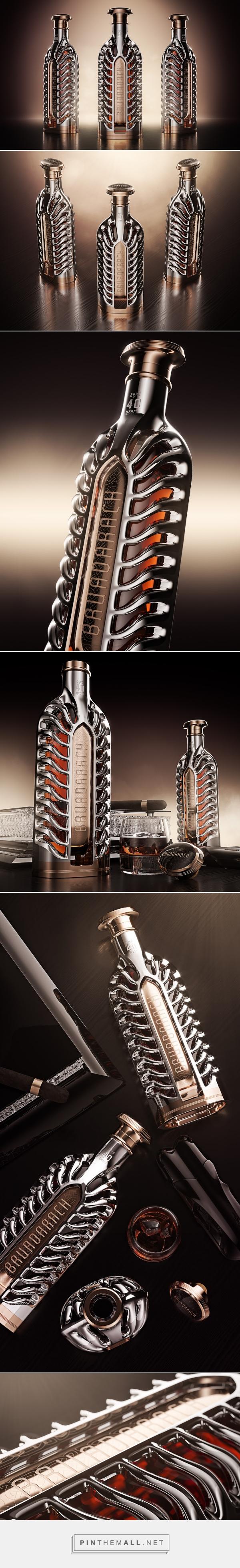 Bruadarach whisky packaging design concept by Ivan Venkov - http://www.packagingoftheworld.com/2017/04/bruadarach-concept.html
