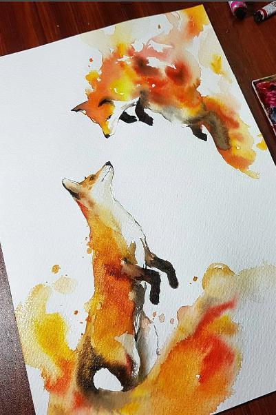 #Art #Fox