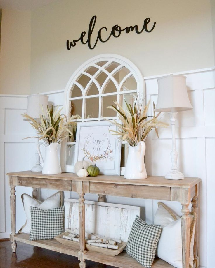 42 Elegant Farmhouse Decor Ideas For Living Room images
