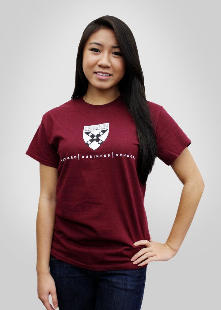 Harvard Business School Shield T-Shirt   Harvard business ...