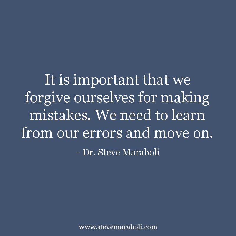 """It is important that we ourselves for making"