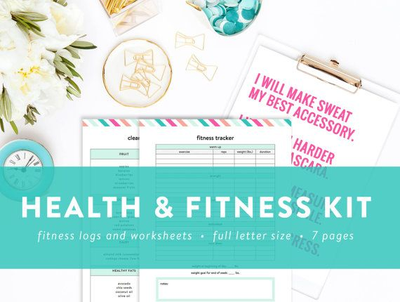 Health and Fitness Kit - Fitness and Diet Tracker - Vitamin and