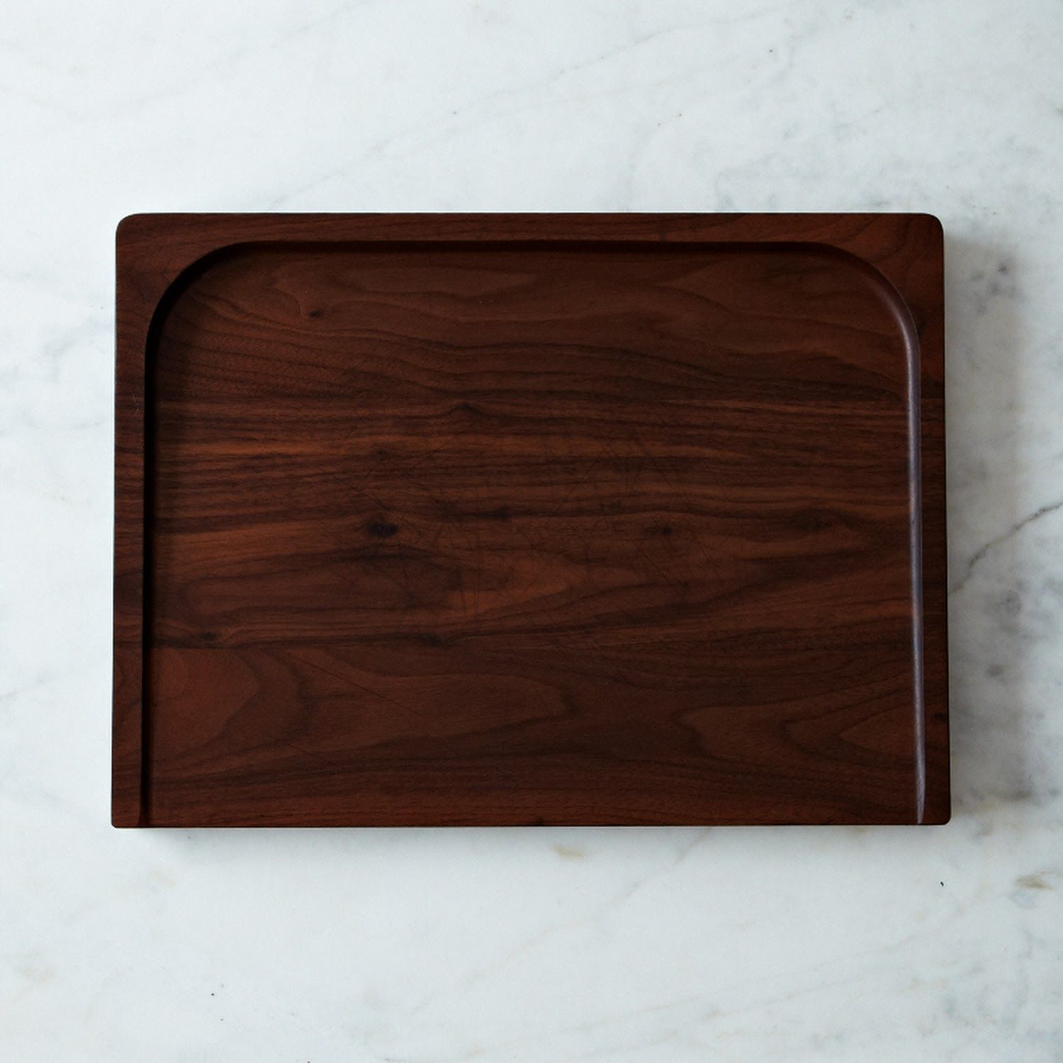 "Black Walnut Trencher Board | $89 | 18""L x 13"" w x 1 1/4"" h"