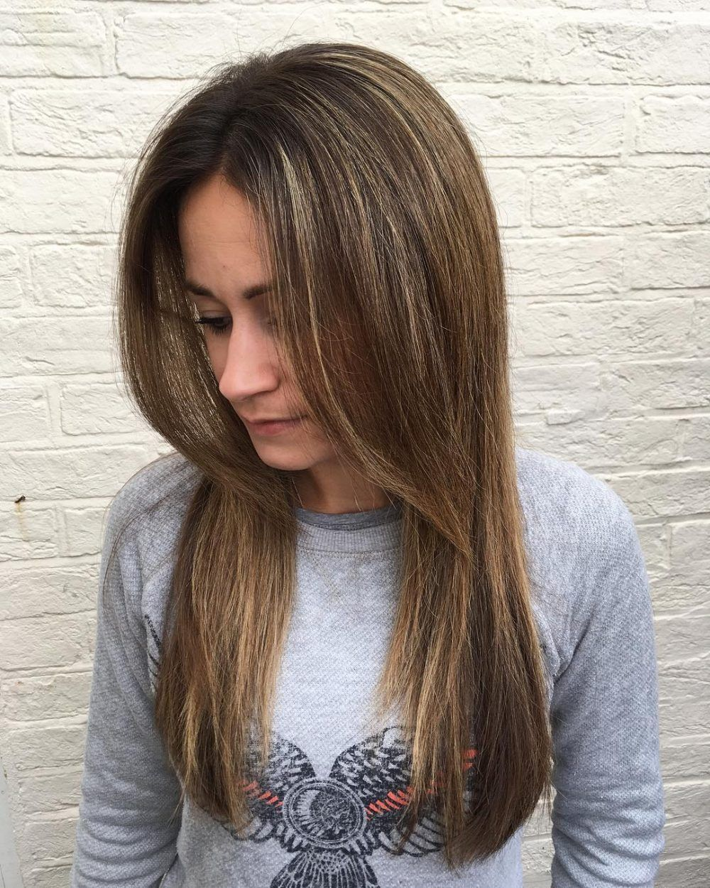 Pin on Long Hair with Bangs