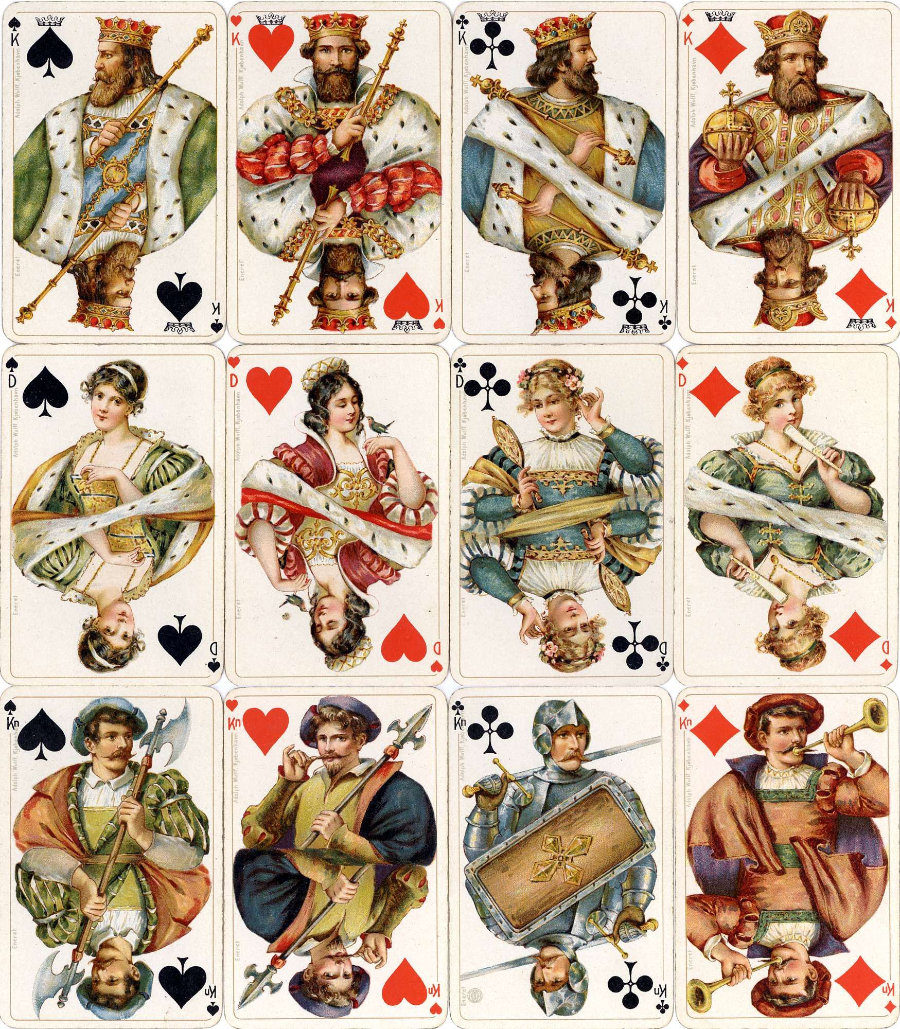 Luxuskarte No.75 The World of Playing Cards Playing