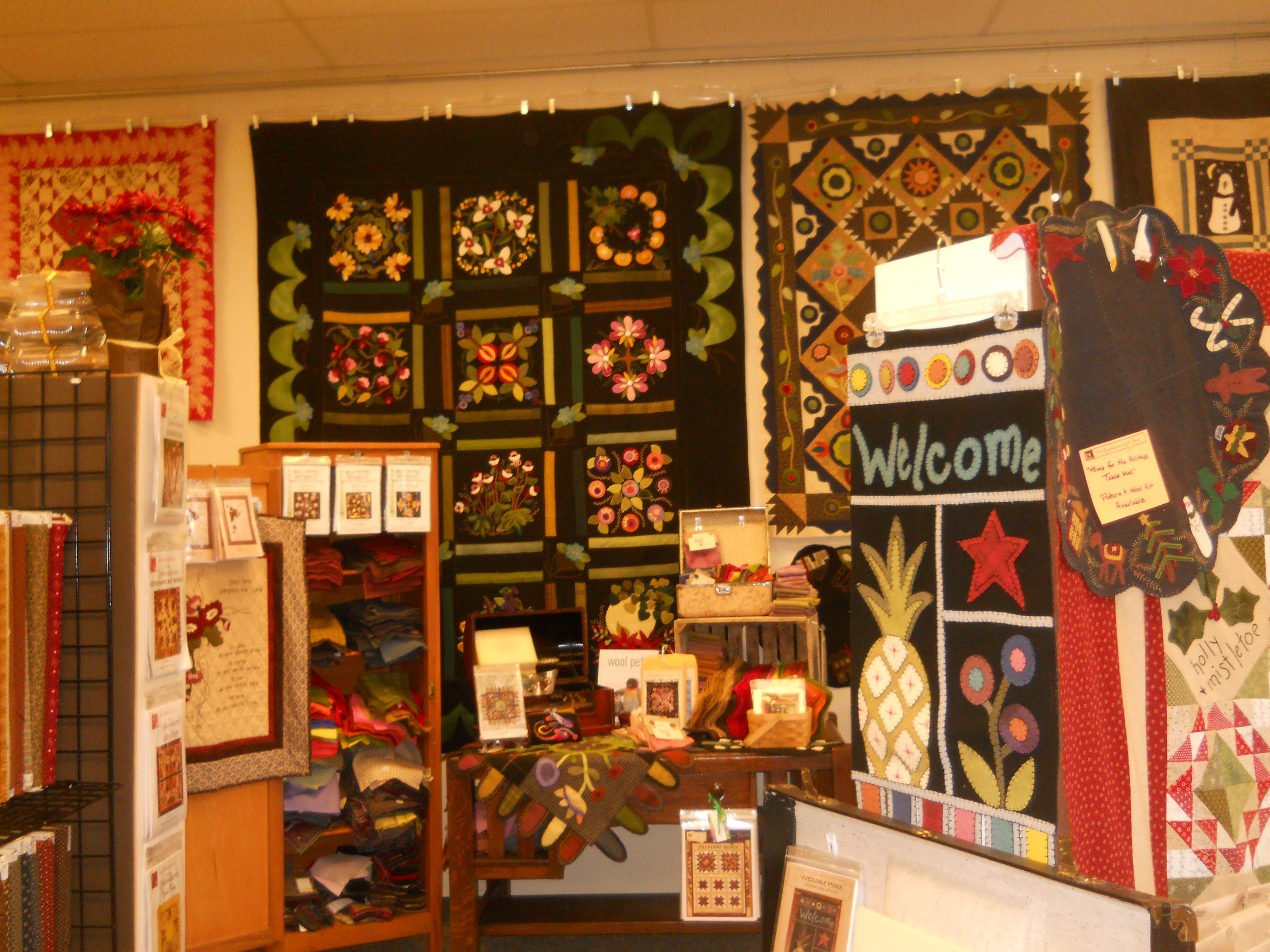 Backstreet Quilts in Bad Axe Michigan. While you are in ...