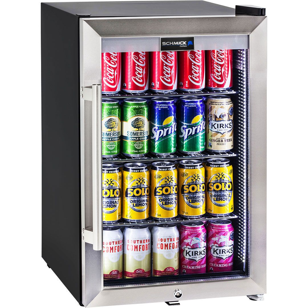 Bar Fridges Brisbane Schmick Tropical Triple Glazed Outdoor Glass Bar Fridge 70 Litre