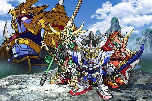 'SD Gundam Sangokuden Brave Battle Warriors' Anime Streaming Once Again