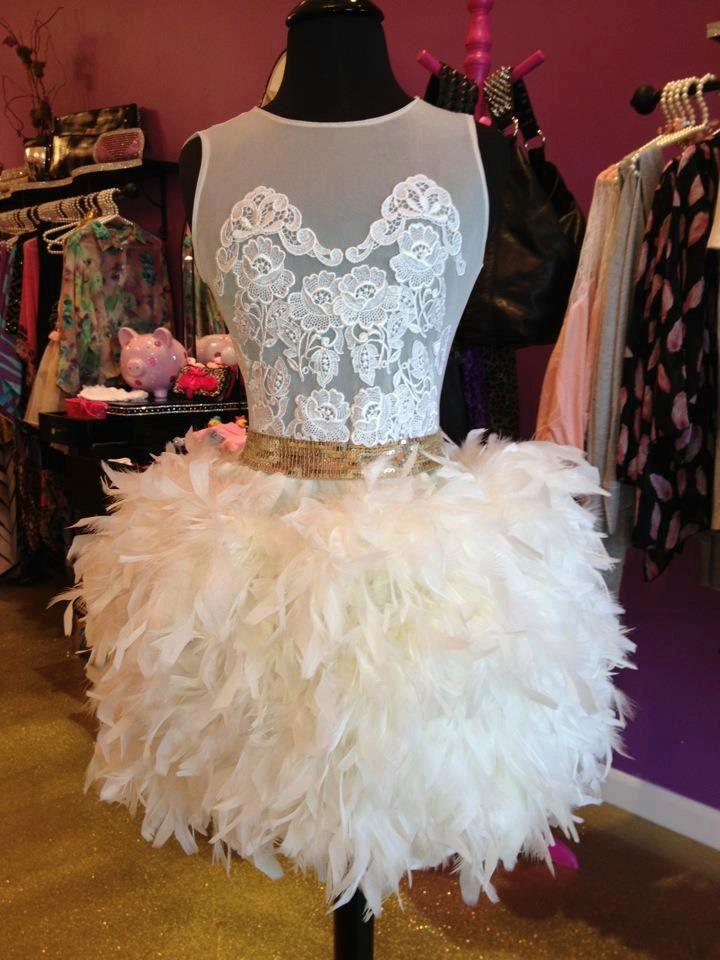 modern white swan. xo