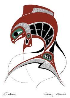 northwest inuit art salmon - Google Search
