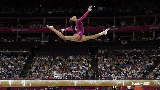 Gabby Douglas's Beam Performance at London Olympics