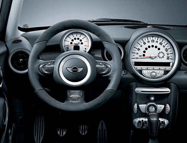 Mini Jcw 2008 Steering Wheel Alcantara Carbon Mid Mini Cooper Mini One Mini