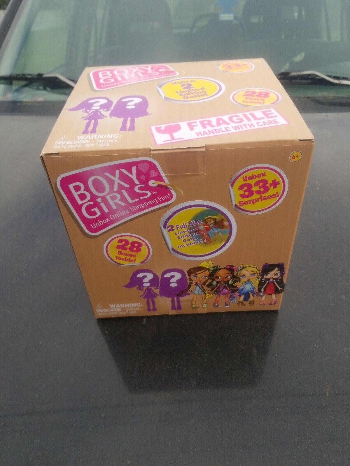 Boxy Girls Jumbo Crate Big Box 2 Limited Edition Dolls 28 Surprise Boxes New Surprise Box Ideas Of Surprise Box Birthday Gift Photo Diy Photo Album Gift
