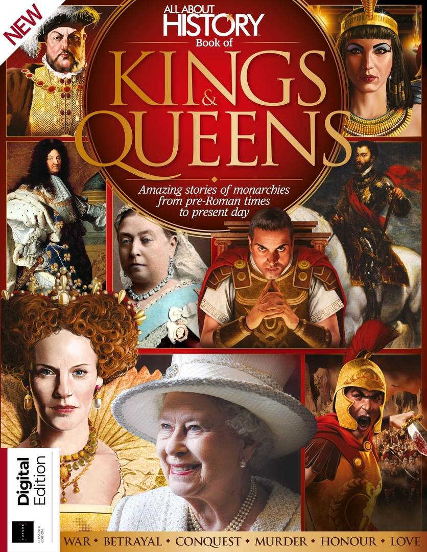 All About History Book Of Kings Queens July 2019 Pdf Download Free History Books King Queen Books