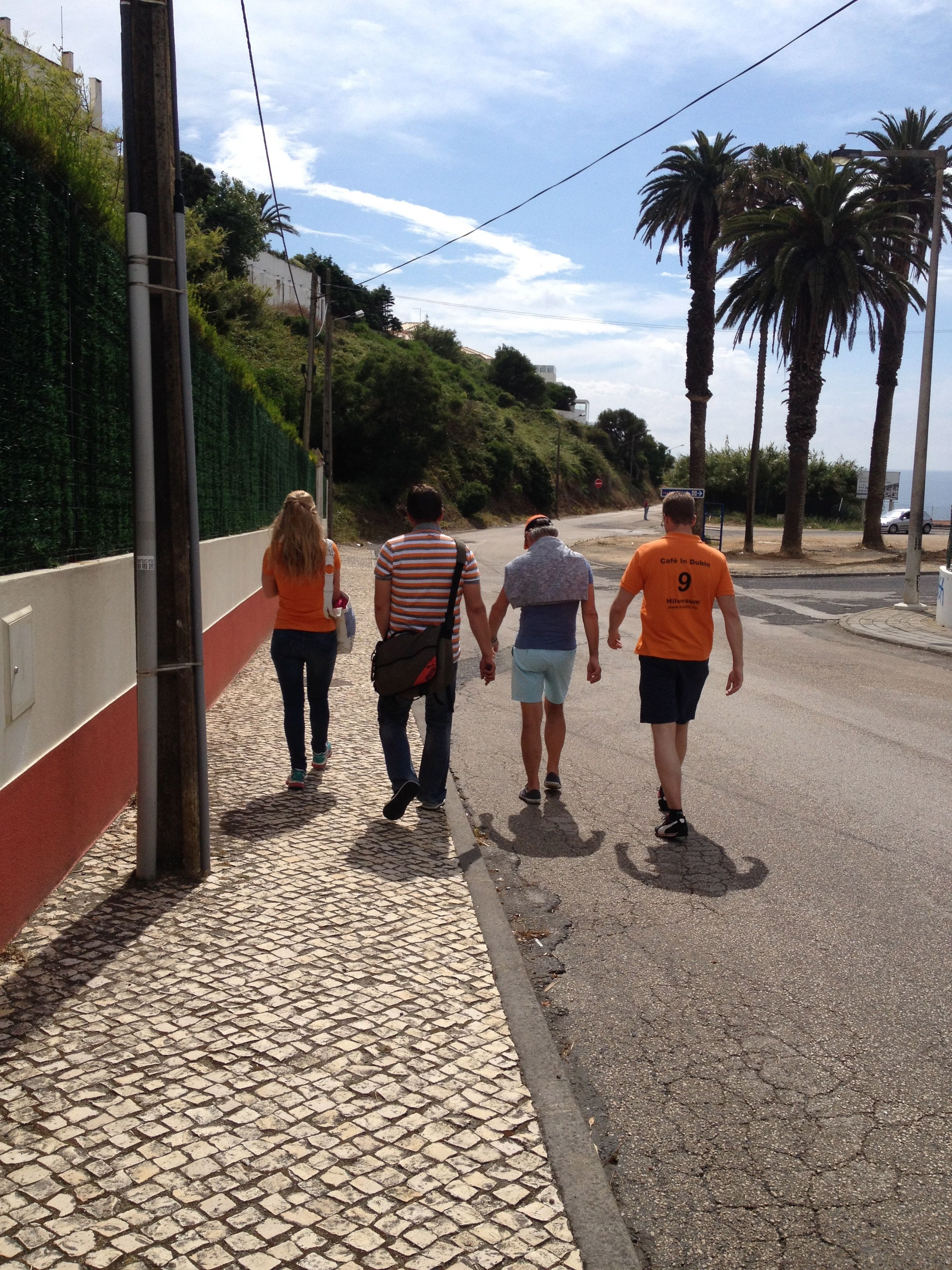 5 minute walk to Ericeira town