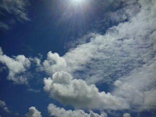 O céu do Recife, Brasil.