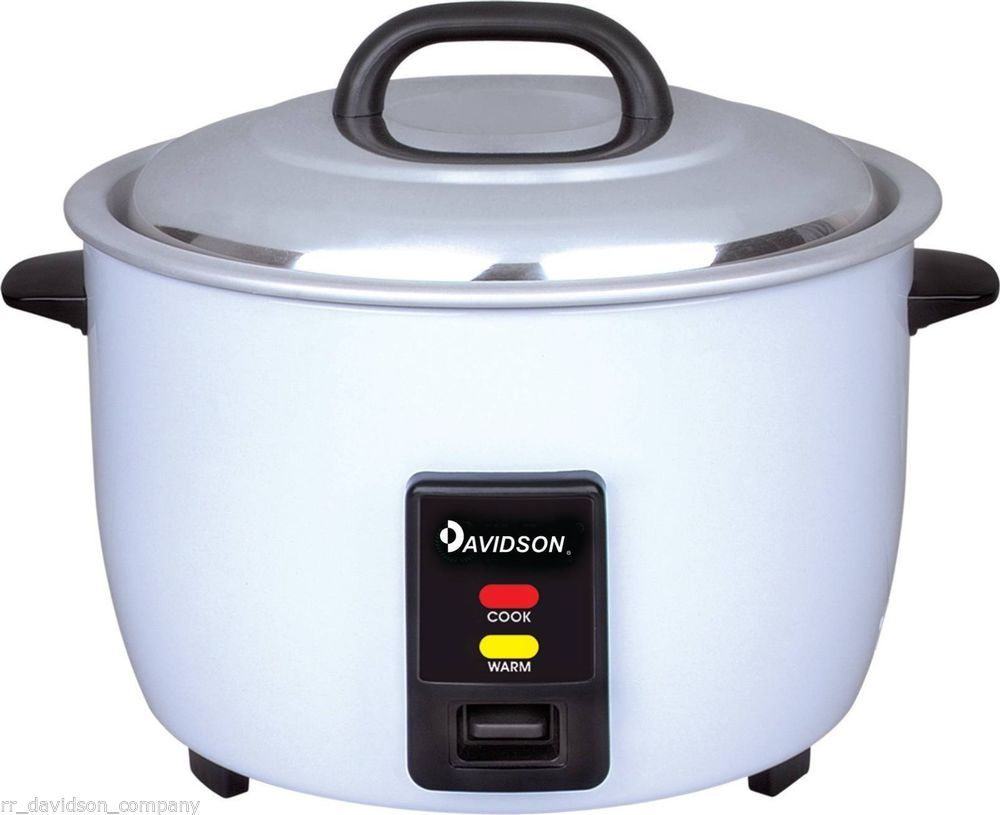 Davidson Commercial Rice Cooker 20 Cups 3.6L - Non Stick Pot (Keep ...