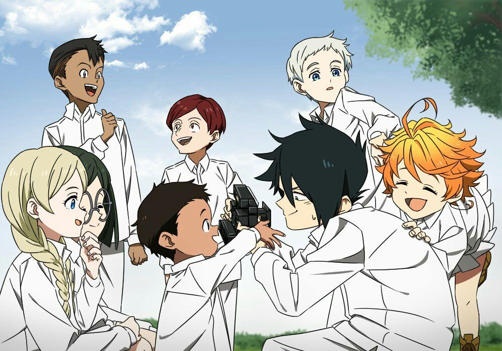 Pin by Percy Tam on The Promised Neverland Neverland art