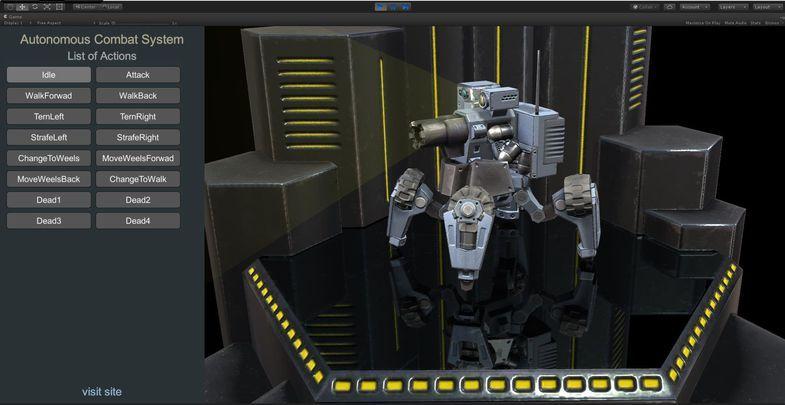 Autonomous Combat System 3D Autonomous, Combat Combat
