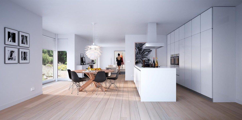 woonstijl interieur impressie met grote woonkeuken en prachtige