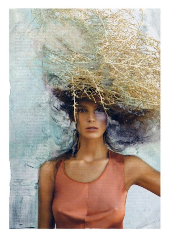 Untitled in Vogue Art Print by Sara Santarsiero   Society6